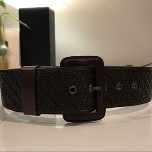 Banana Republic brown leather belt